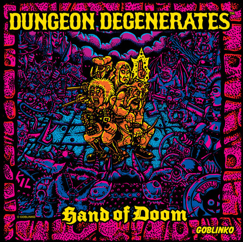 Dungeon Degenerates - Letters Pin