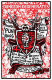Dungeon Degenerates - Dungeon Punk Gang Poster