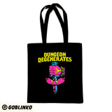 Dungeon Degenerates Tote Bag
