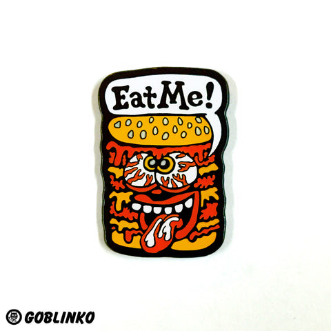 Pizza Knife Enamel Pin