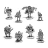 Dungeon Degenerates Adventurer Miniatures - Freaks & Psychos - In Metal