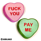 FUCK YOU - PAY ME - PATCHES