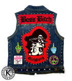 Stitch Witch - Boss Bitch - Custom Vest