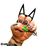 STEEL DOG GOUGER - BLACK