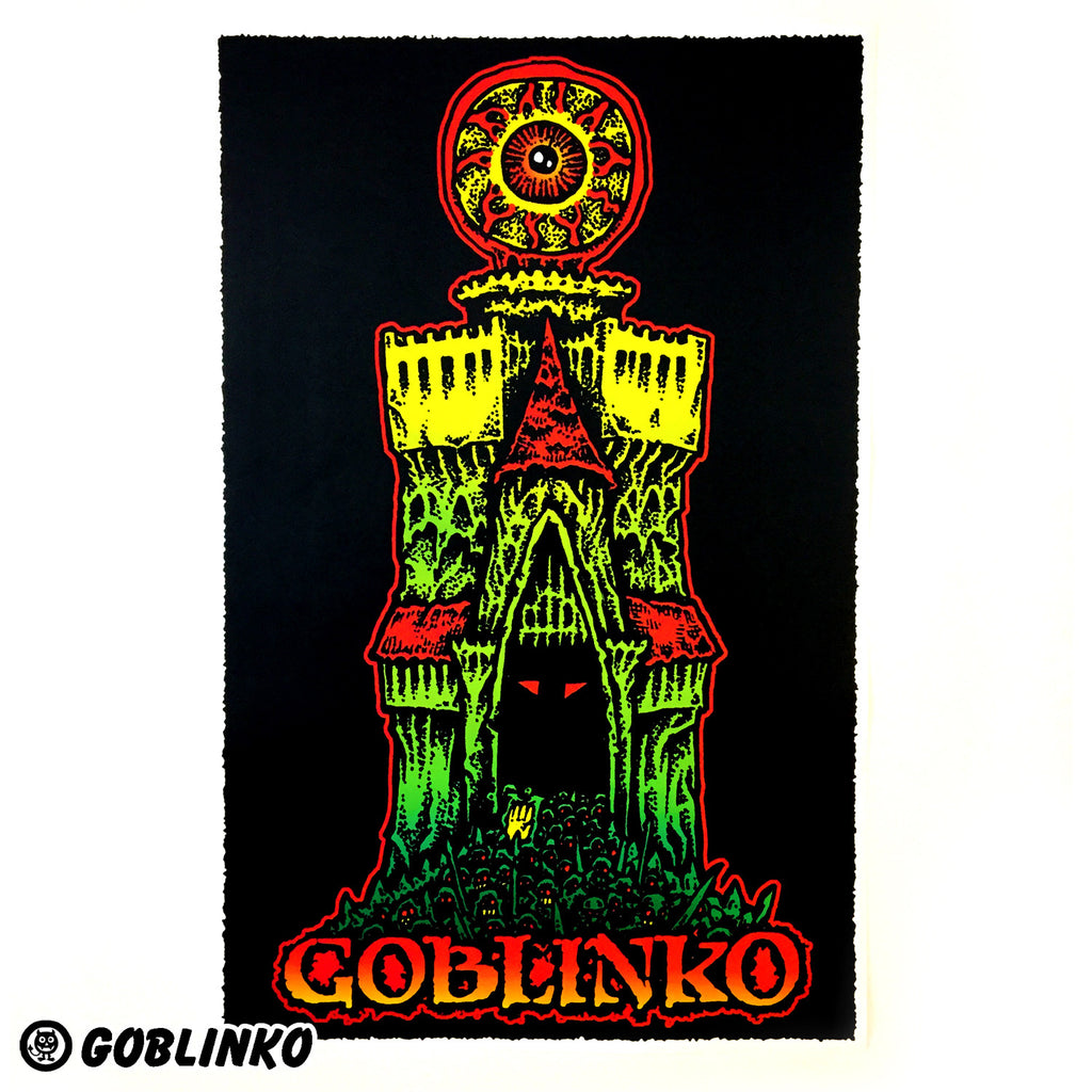 GOBLINKO TOWER OF EVIL POSTER