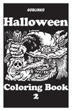 All Three Halloween Coloring Books