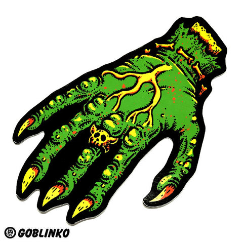 Pointing Hand Of Doom Die-Cut Vinyl Sticker