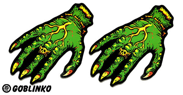 Hand of Doom Die-Cut Vinyl Sticker