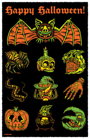 Halloween Die-Cut Sticker Pack - Series Two