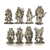 Dungeon Degenerates Adventurer Miniatures - Base Set - In Metal