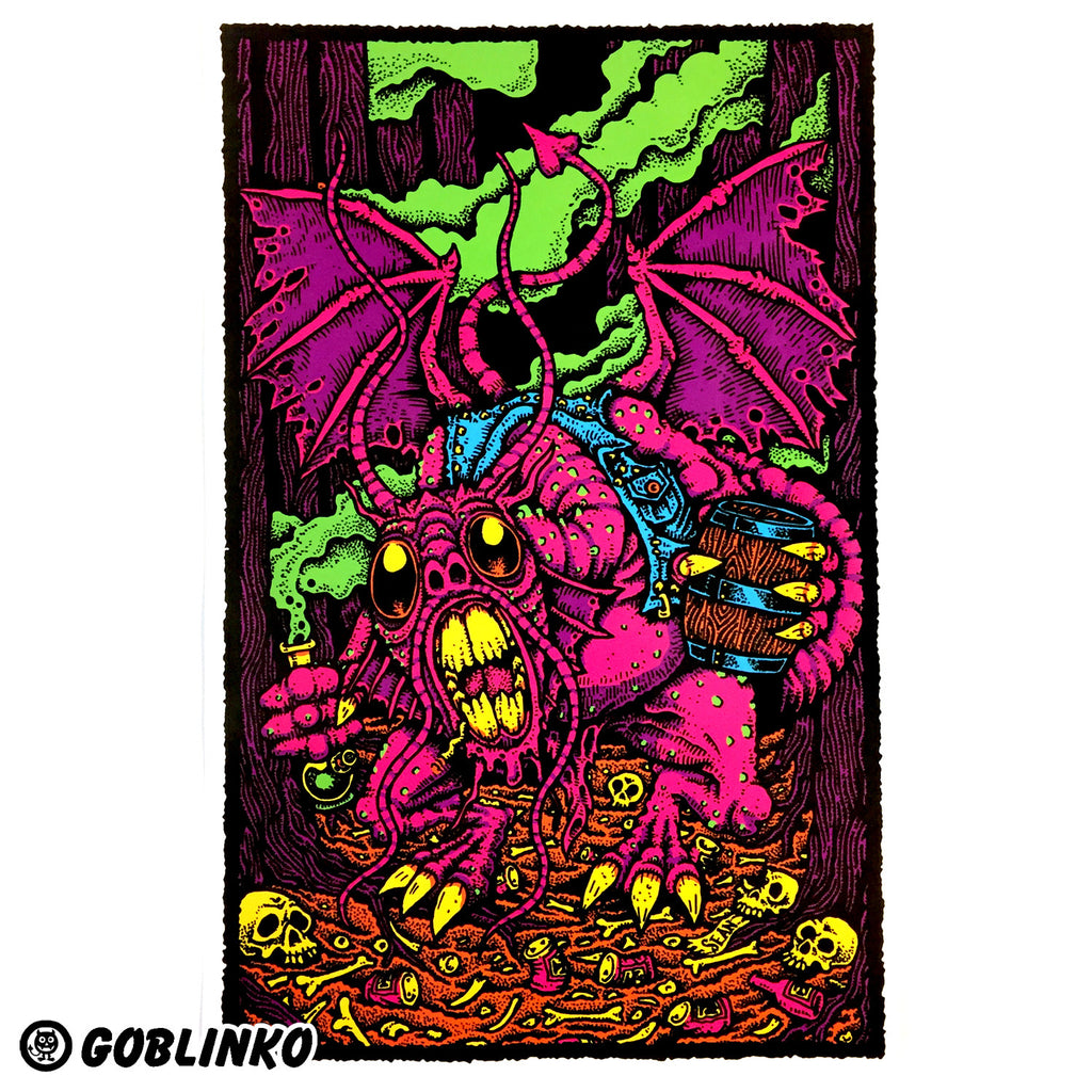 JABBERWOCKY POSTER BY SEAN AABERG