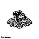 MICKEY BAT ENAMEL PIN
