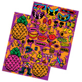 Mr. Pineapple Face Sticker Sheets