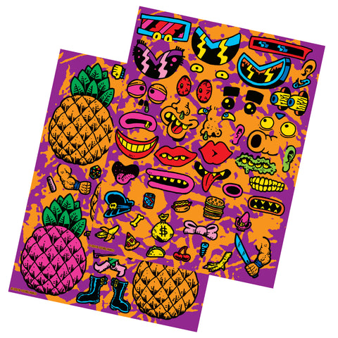 Bananas Stickers - Series Three