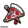 PIZZA KNIFE DIE-CUT VINYL STICKER