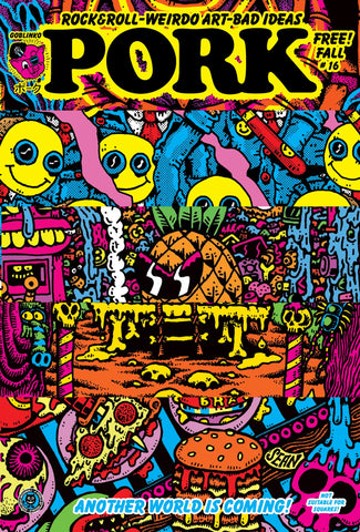 Acid Vomit! The art of Sean Äaberg
