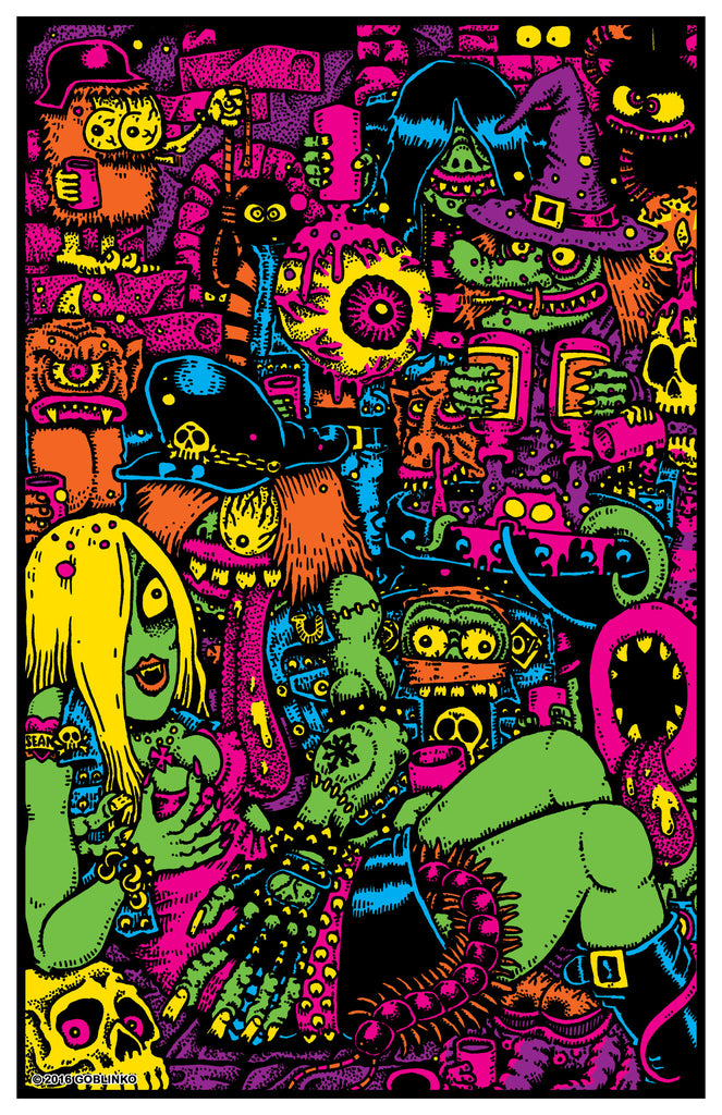 PORK #20 Monsters, Weirdos & Creeps Poster