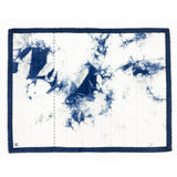 Stitch Witch - Hand Dyed, Quilted, Shibori Indigo Space Mat #2