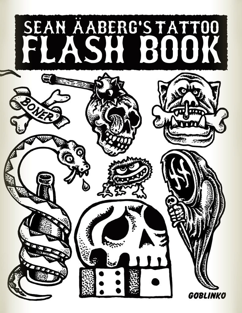 Sean Äaberg's Tattoo Flash Book