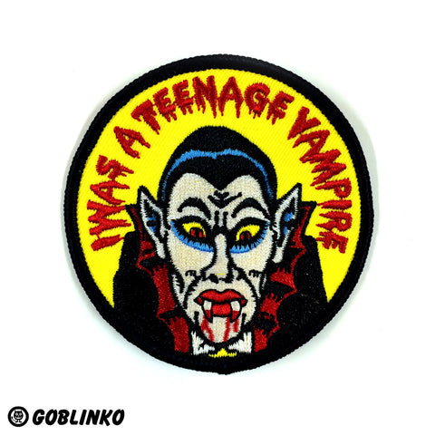 "SMALL 1.25"" BLITZKRIEG BUTTONS - TREATS & TRICKS - S075"
