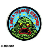 I WAS A TEENAGE CREATURE PATCH
