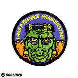 I Was A Teenage Frankenstein Patch