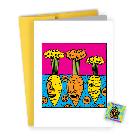 Take a shower, get a job & grow up! Birthday Card