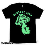 UFOS ARE REAL (GLOW IN THE DARK) T-SHIRT