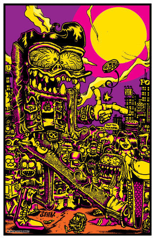 The Weirdos Come Out at Night Poster