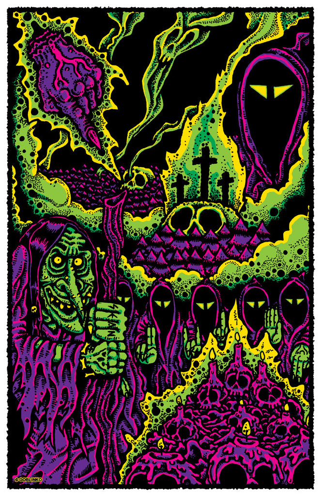 Dungeon Degenerates Poster - Witch Hill