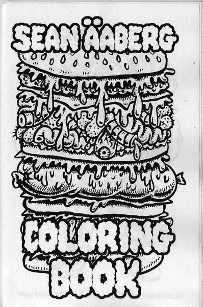 SEAN AABERG WEIRDO ART COLORING BOOK #1