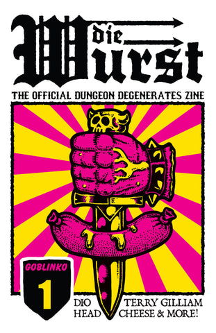 Dungeon Degenerates - Wurstreich Pin