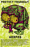 VD Informative poster - Herpes