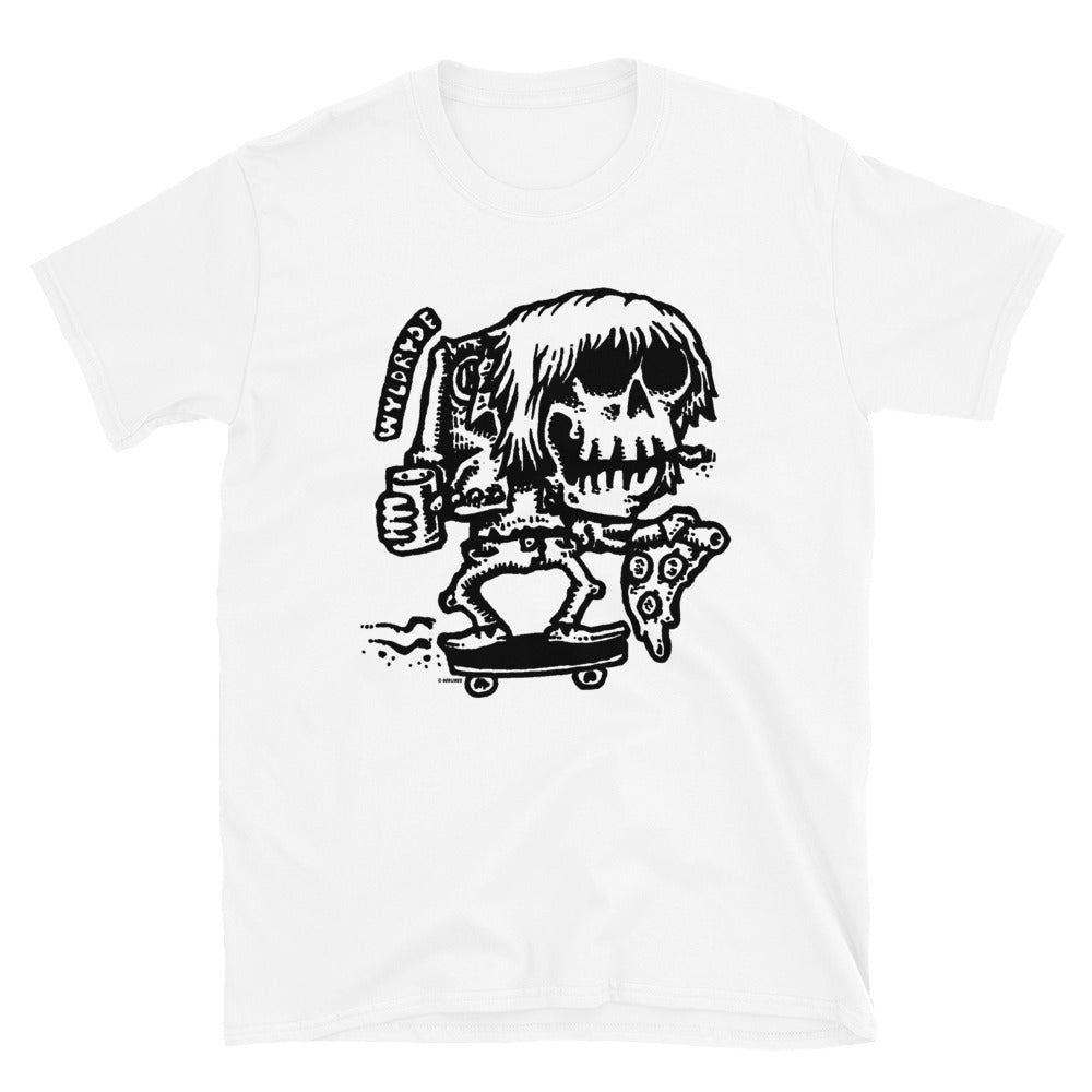 Wyld Ride on White Short-Sleeve Unisex T-Shirt