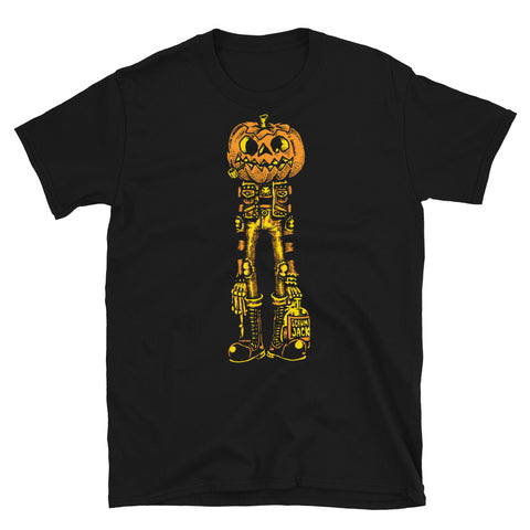 Pumpkin Balloon Short-Sleeve Unisex T-Shirt