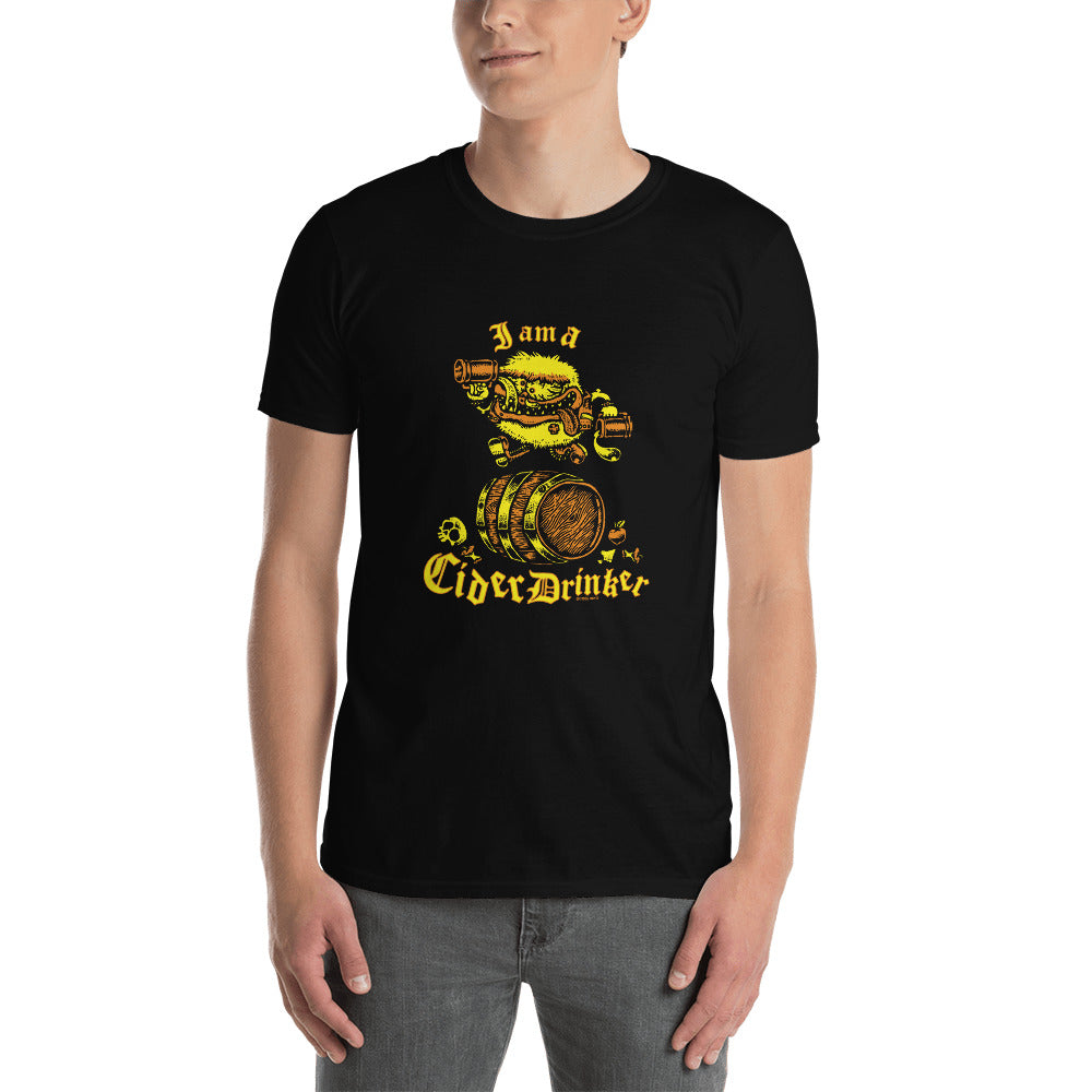 I Am A Cider Drinker Short-Sleeve Unisex T-Shirt