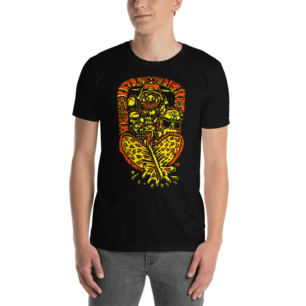 Pizza Orc Short-Sleeve Unisex T-Shirt