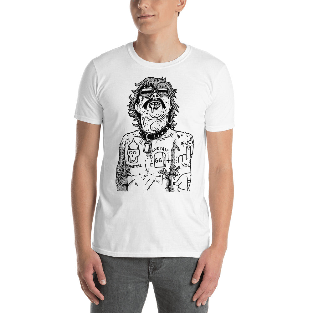 King of Scum Rock Short-Sleeve Unisex T-Shirt