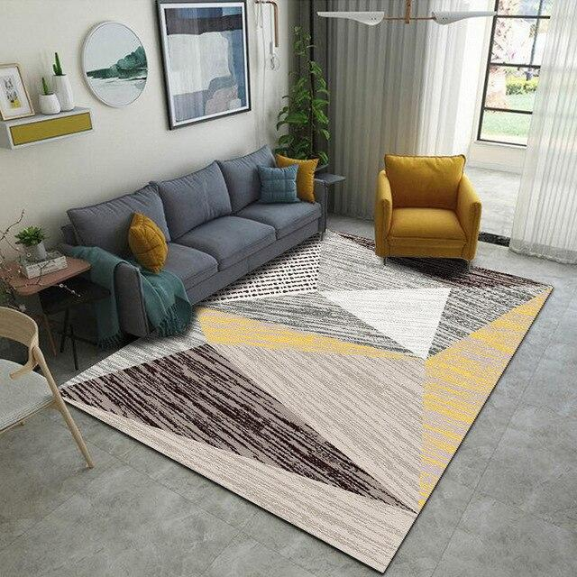 Tapis Scandinave <br> Moutarde Nils