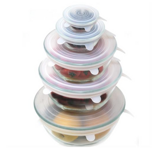 Silicone Stretch Lids (set of 5)