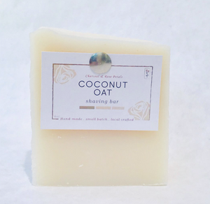 Coconut Oat Shave Bar