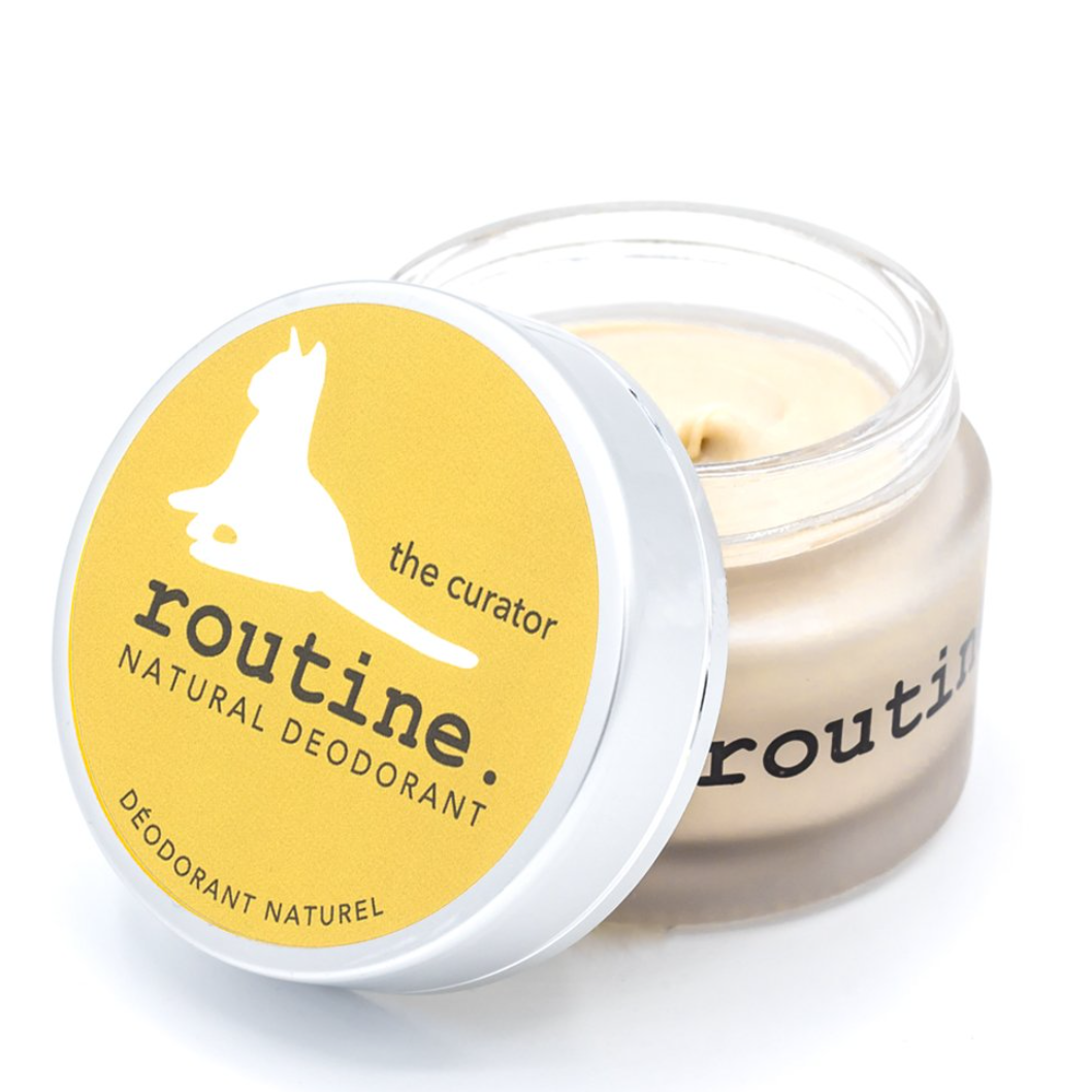 The Curator Baking Soda Free Natural Deodorant by Routine