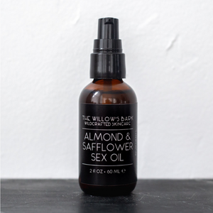 Almond and Safflower Sex Oil by The Willow's Bark