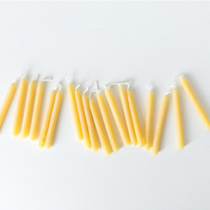 Zero Waste Birthday Candles by Bee Glo