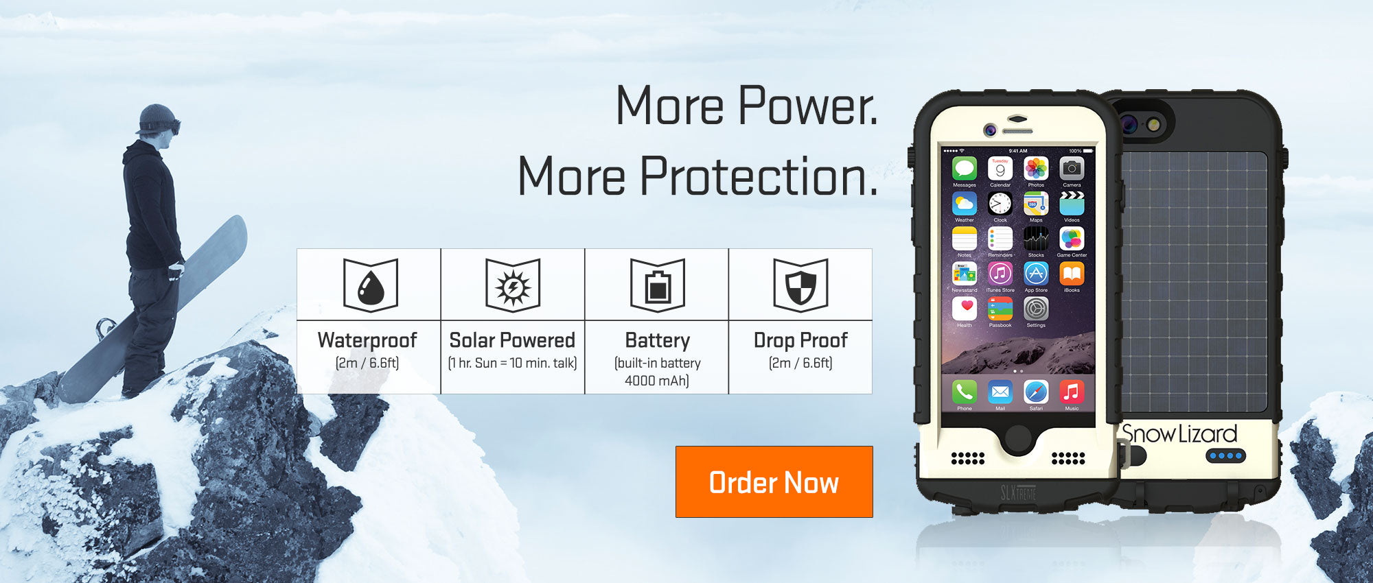 SLXtreme6 More Power. More Protection.