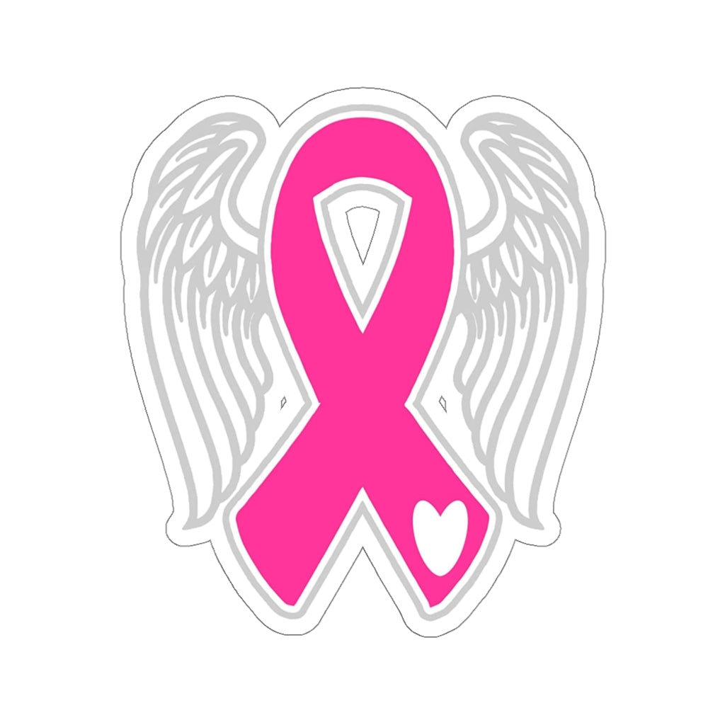 Breast Cancer Awareness Kiss-Cut Sticker