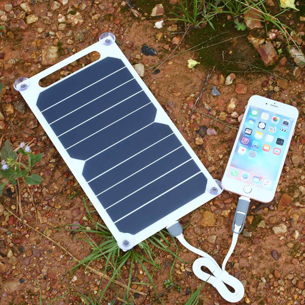 7w Ultra Thin Portable Solar Panel With Sunpower Ibc Cells