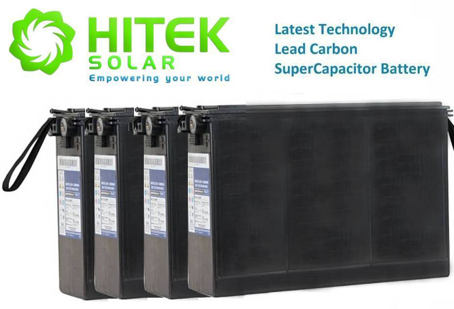 48v 9.6kWh Lead Carbon SuperCapacitor (LCS Pb-C) Battery Set