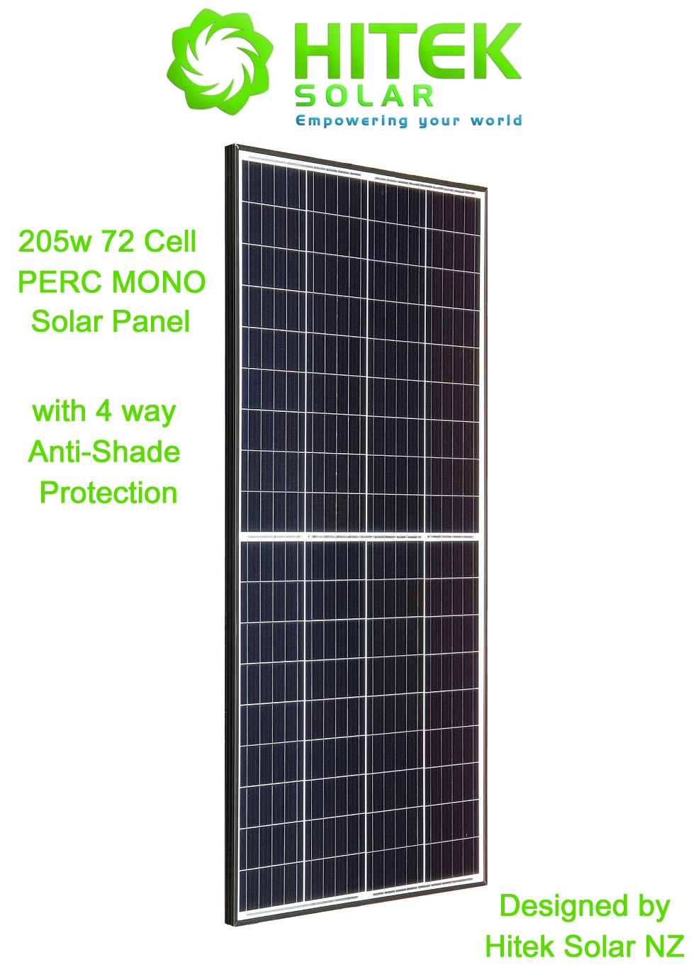 205w PERC MONO Solar Panel (Latest Technology for 2020)