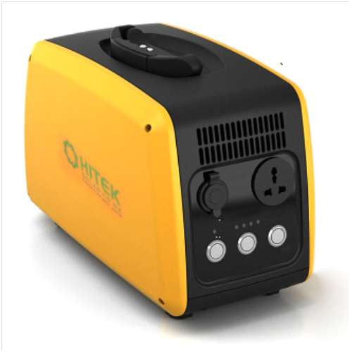 Hitek Portable Solar Generator 1 5kw Lithium Battery